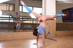 hot flexible gymnastics