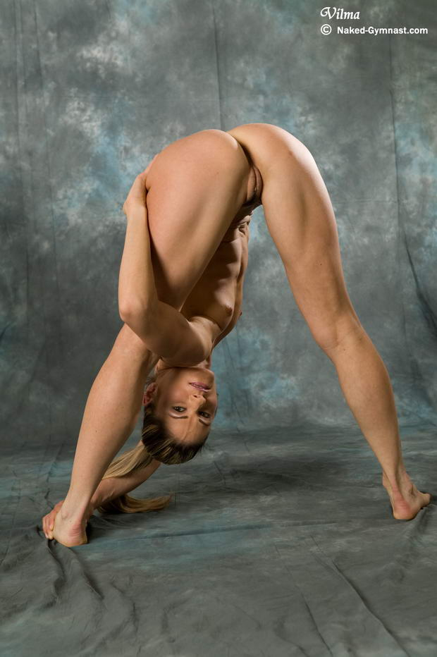 pics of a flexible girl tied