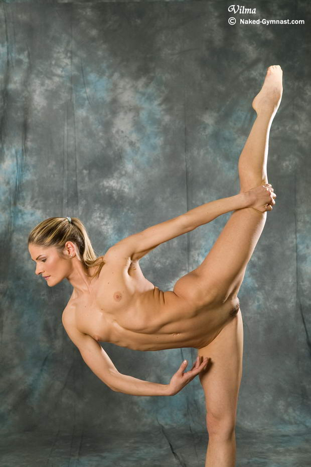 Naked Hairy Gymnastics